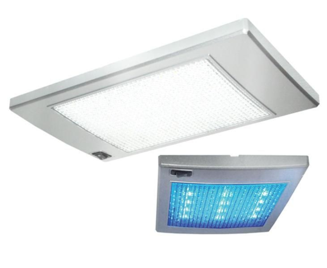 Plafon rectangular luz 36 led ref 835492 para for Plafon led cocina rectangular